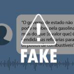 Alagoas Sem Fake: É falso que ICMS da gasolina seja maior que o preço na refinaria